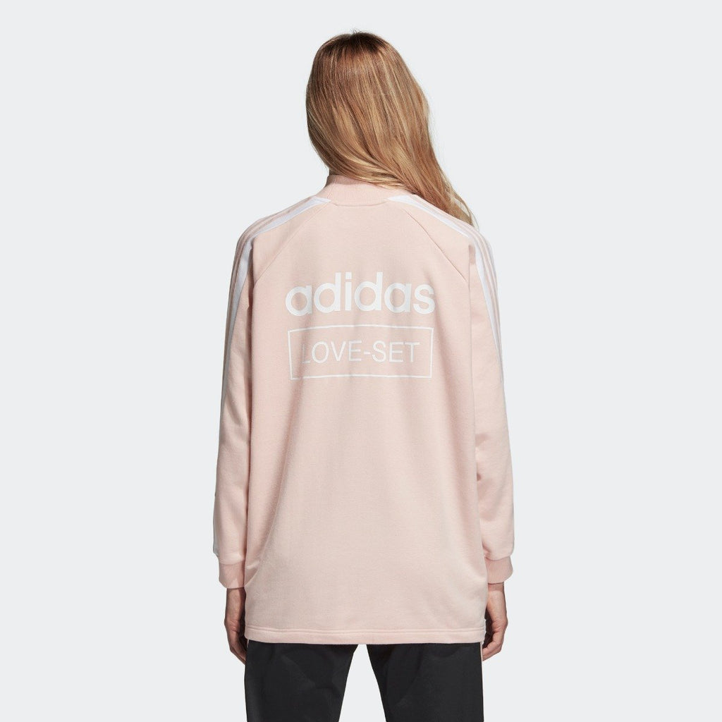 Women's adidas Originals Crew Sweatshirt Blush Pink