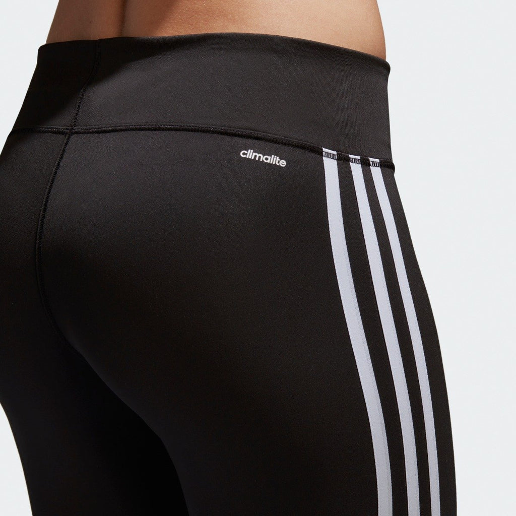 Women's adidas Originals D2M 3-Stripes Leggings Black