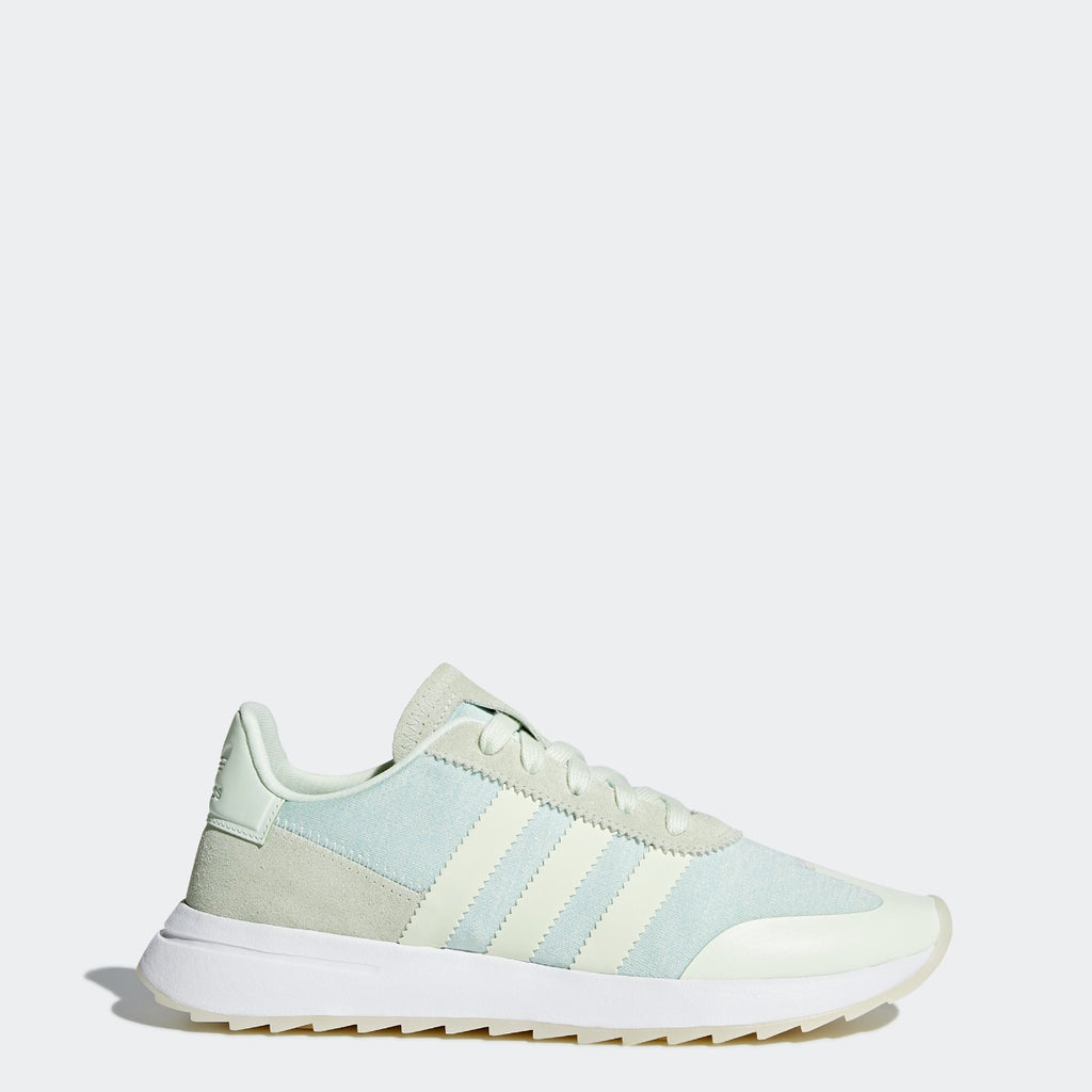 Women's adidas Originals FLB Runner Shoes Aero Green CQ1971 | Chicago City Sports | side view