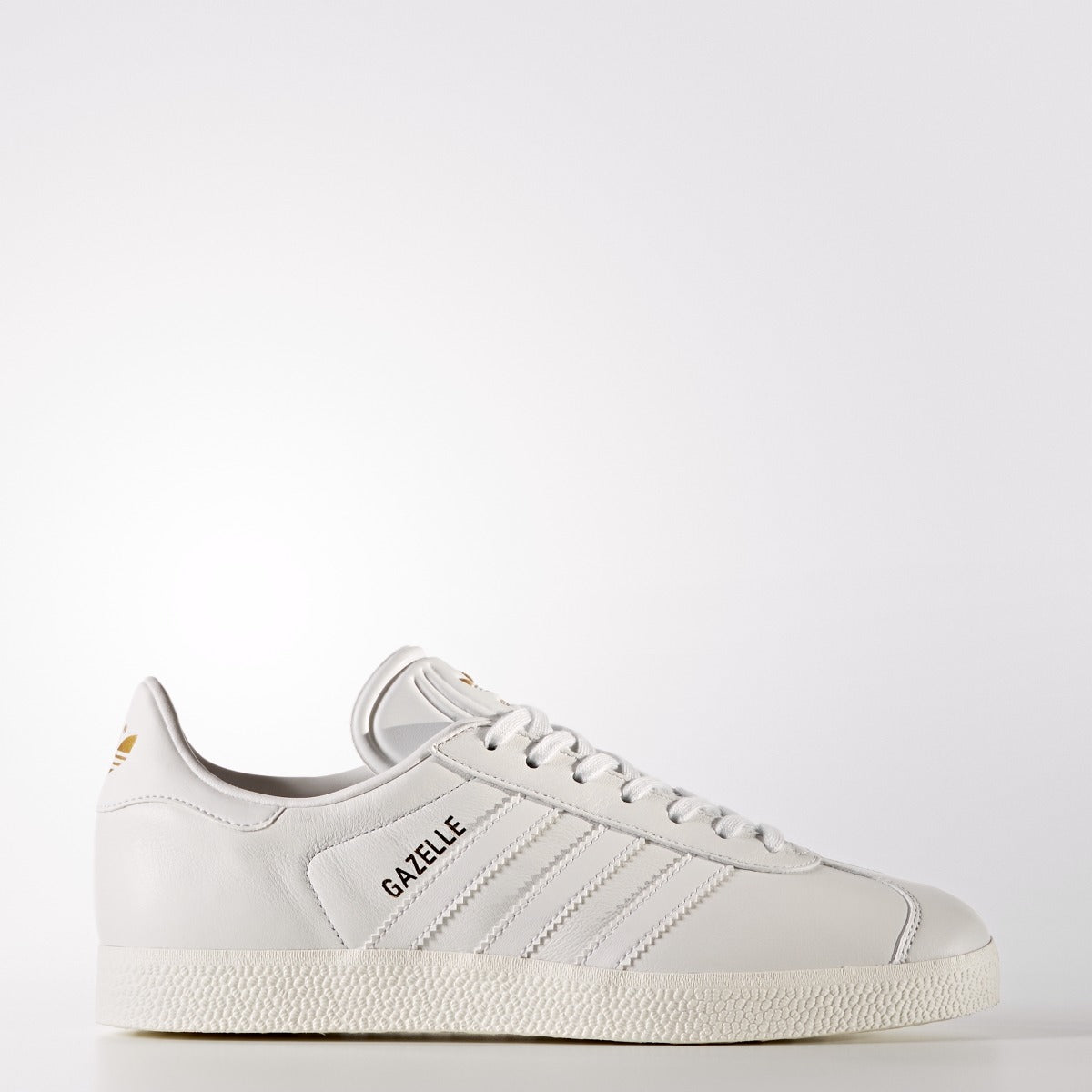 Women's adidas Originals Gazelle Shoes Crystal White 5 WHITE