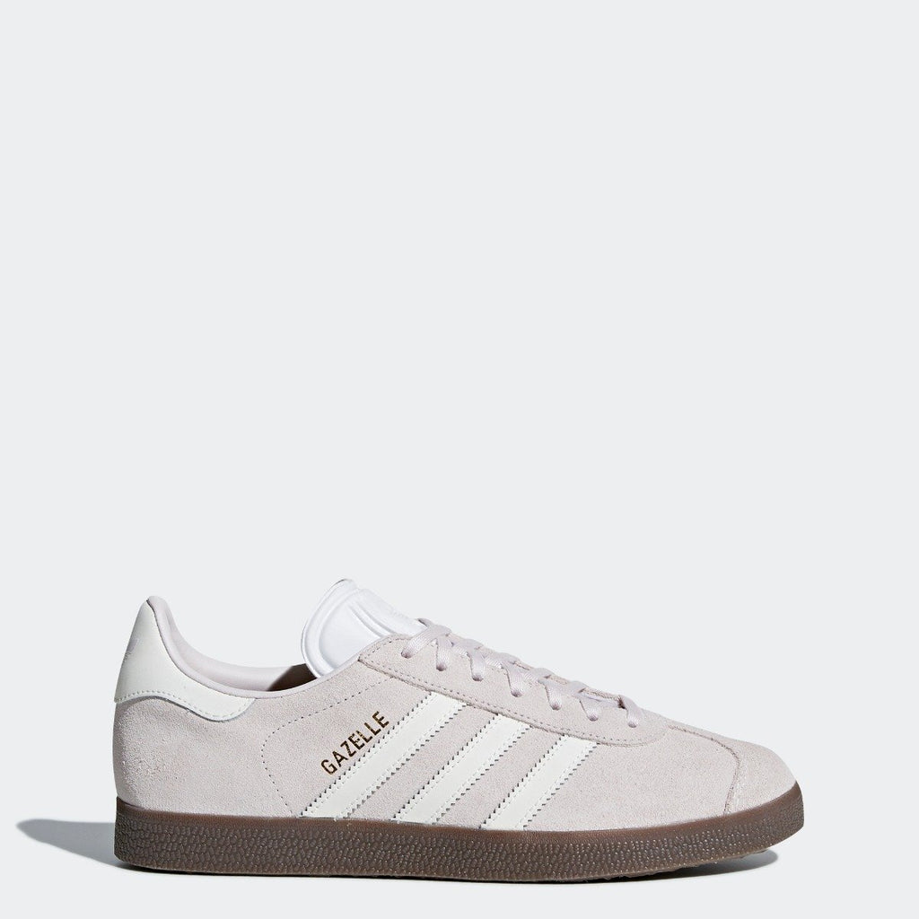 Women's adidas Originals Gazelle Shoes Orchid Tint CQ2177 | Chicago City Sports | side view
