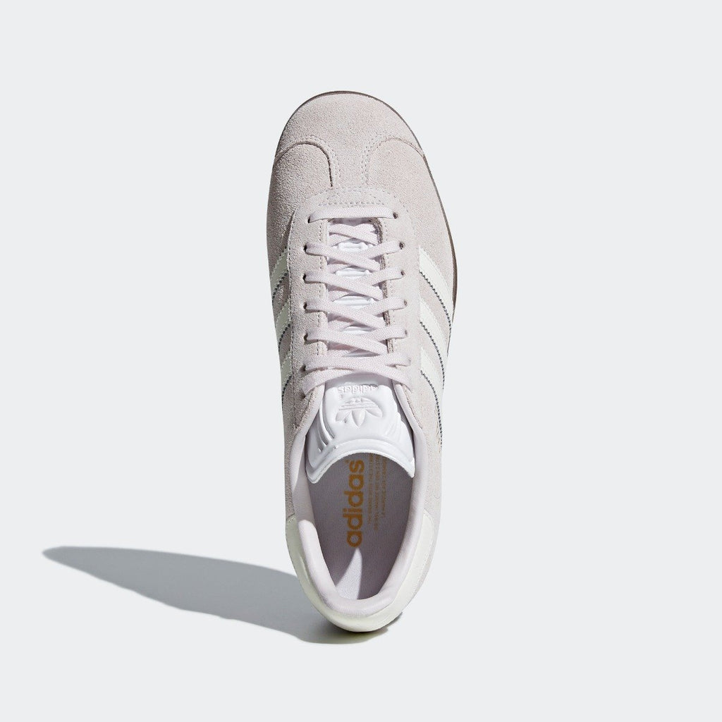Women's adidas Originals Gazelle Shoes Orchid Tint CQ2177 | Chicago City Sports | top view