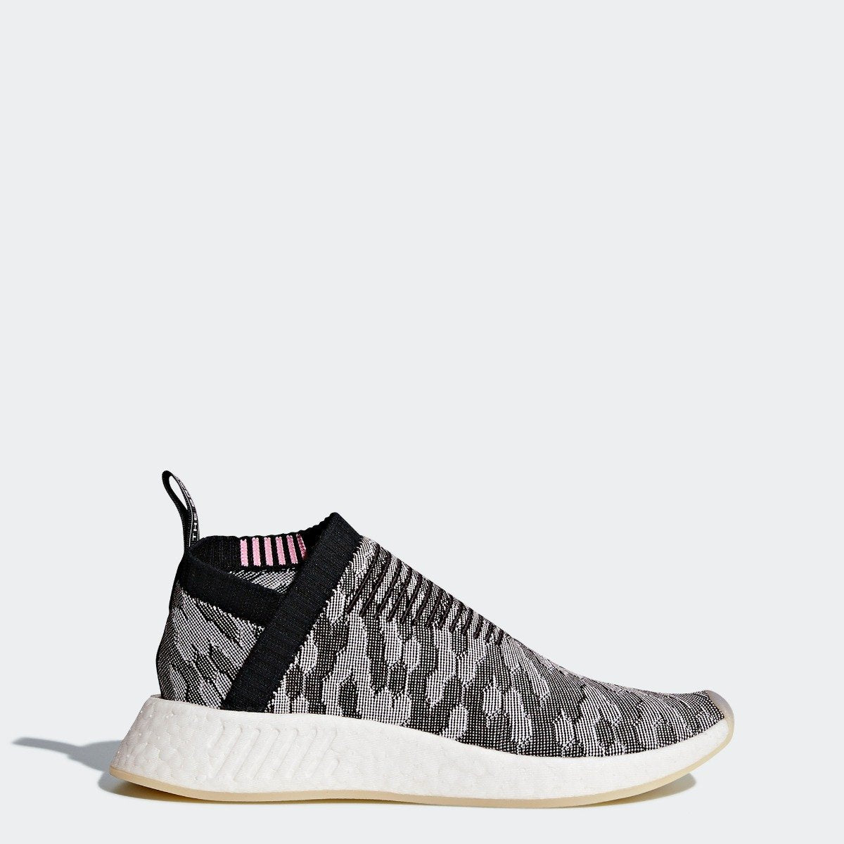 3d5cbfed902d8 Women s adidas Originals NMD CS2 Primeknit Shoes Black with Pink ...