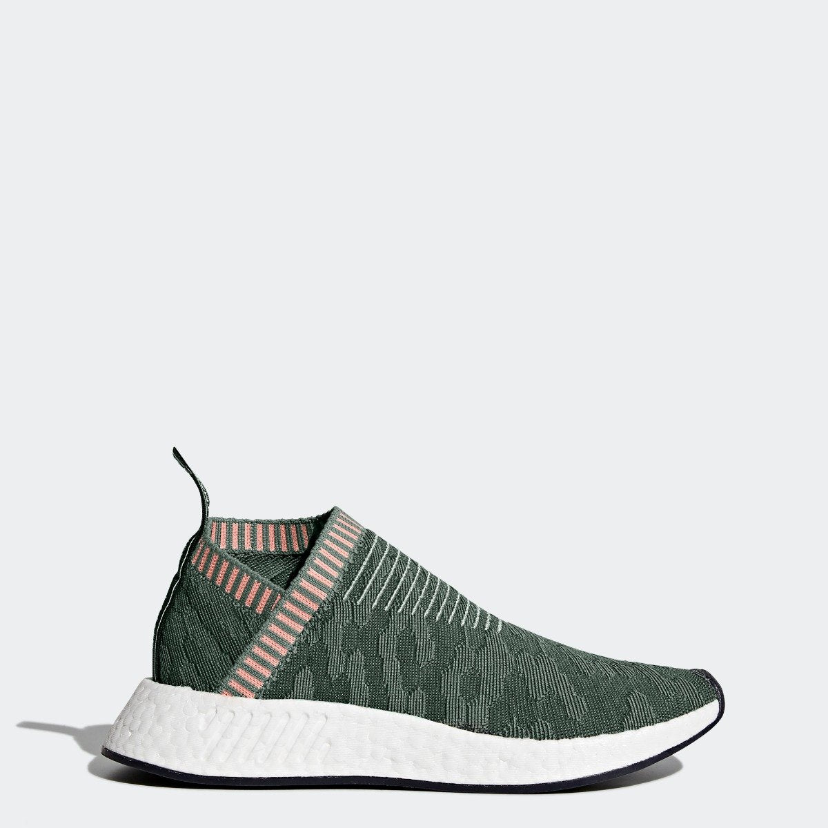 ac856a531 Women s adidas Originals NMD CS2 Primeknit Shoes Trace Green BY8781 ...