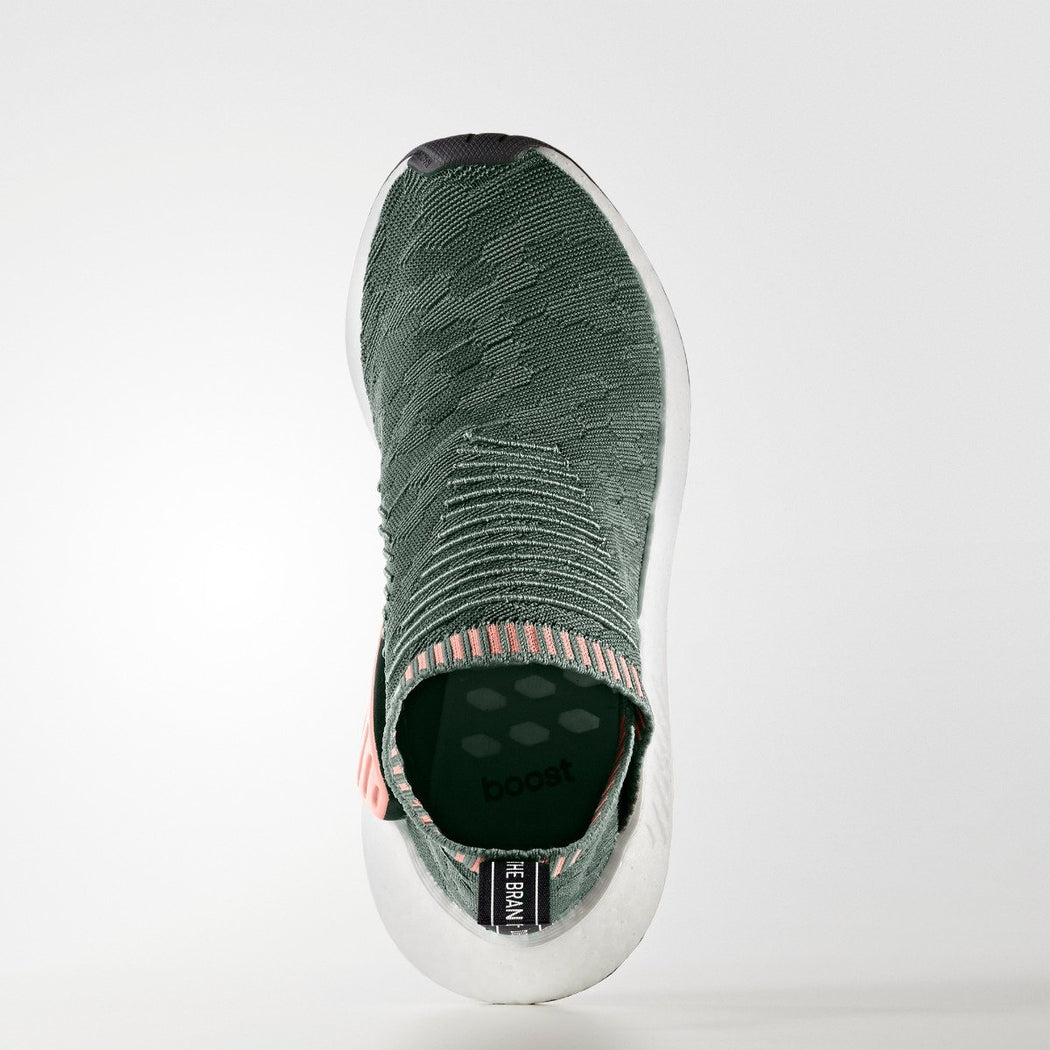 6ab2696be4075 ... Women s adidas Originals NMD CS2 Primeknit Shoes Trace Green  adidas  NMD CS2 Green Pink BY8781 ...