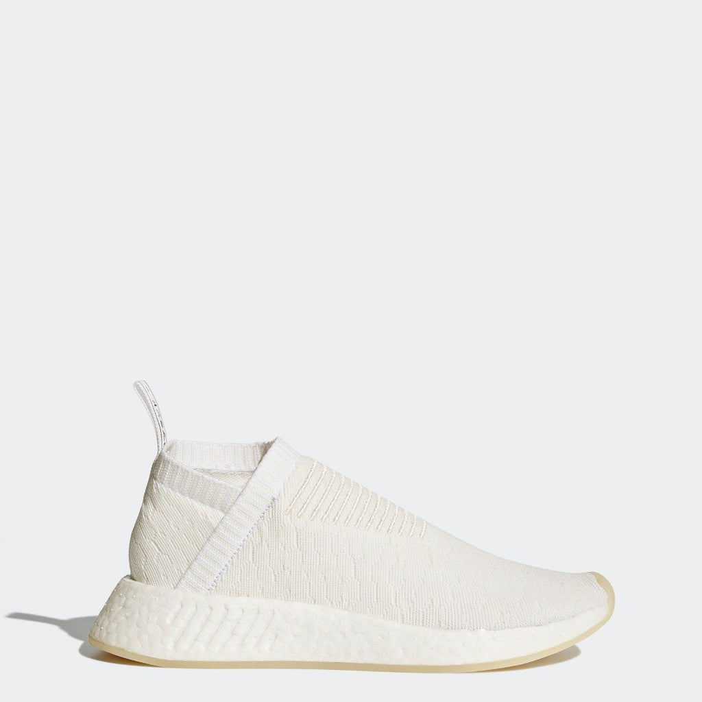 Women's adidas Originals NMD CS2 Primeknit Shoes Triple White