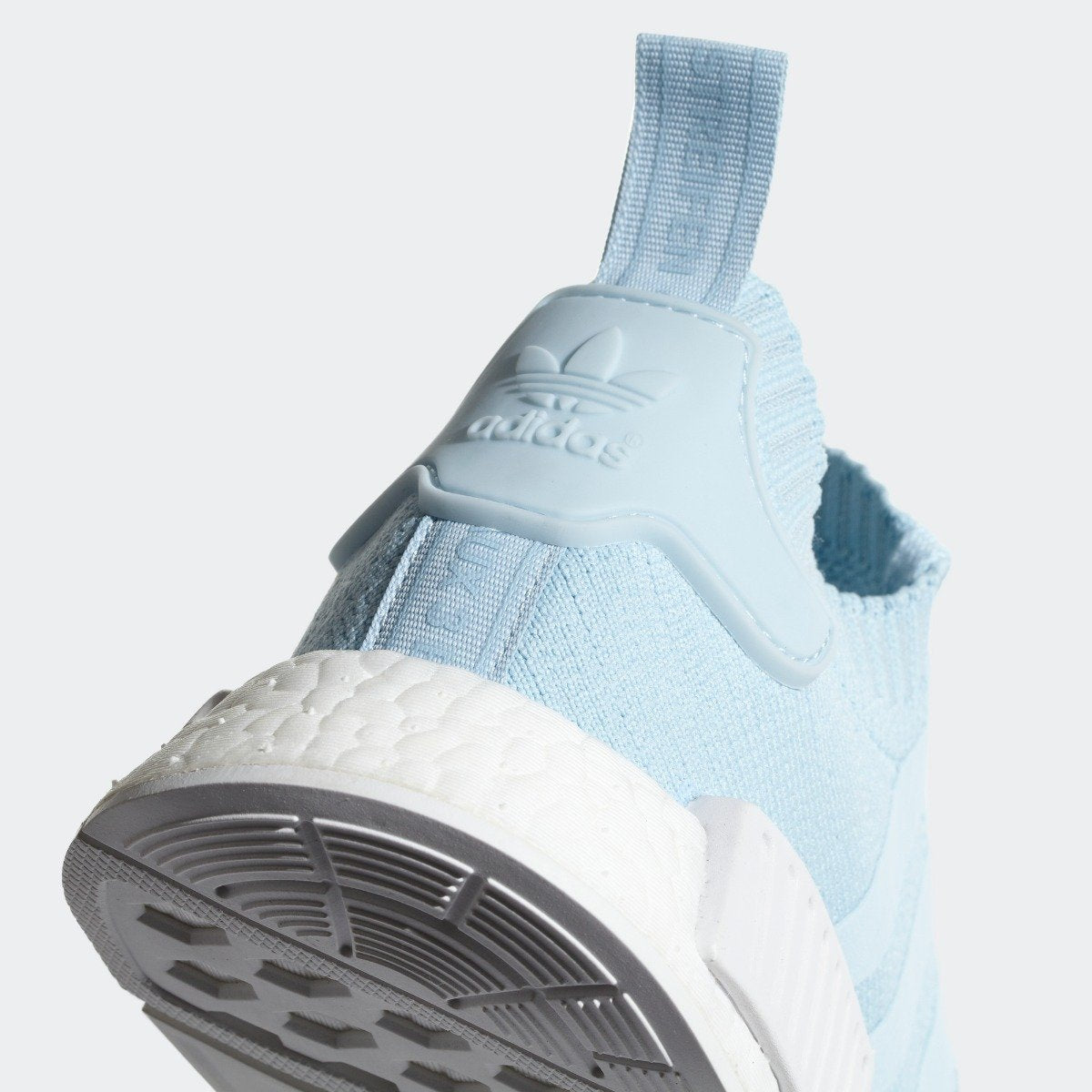 1167b20839933 Women s adidas Originals NMD R1 Primeknit Shoes Ice Blue with White ...