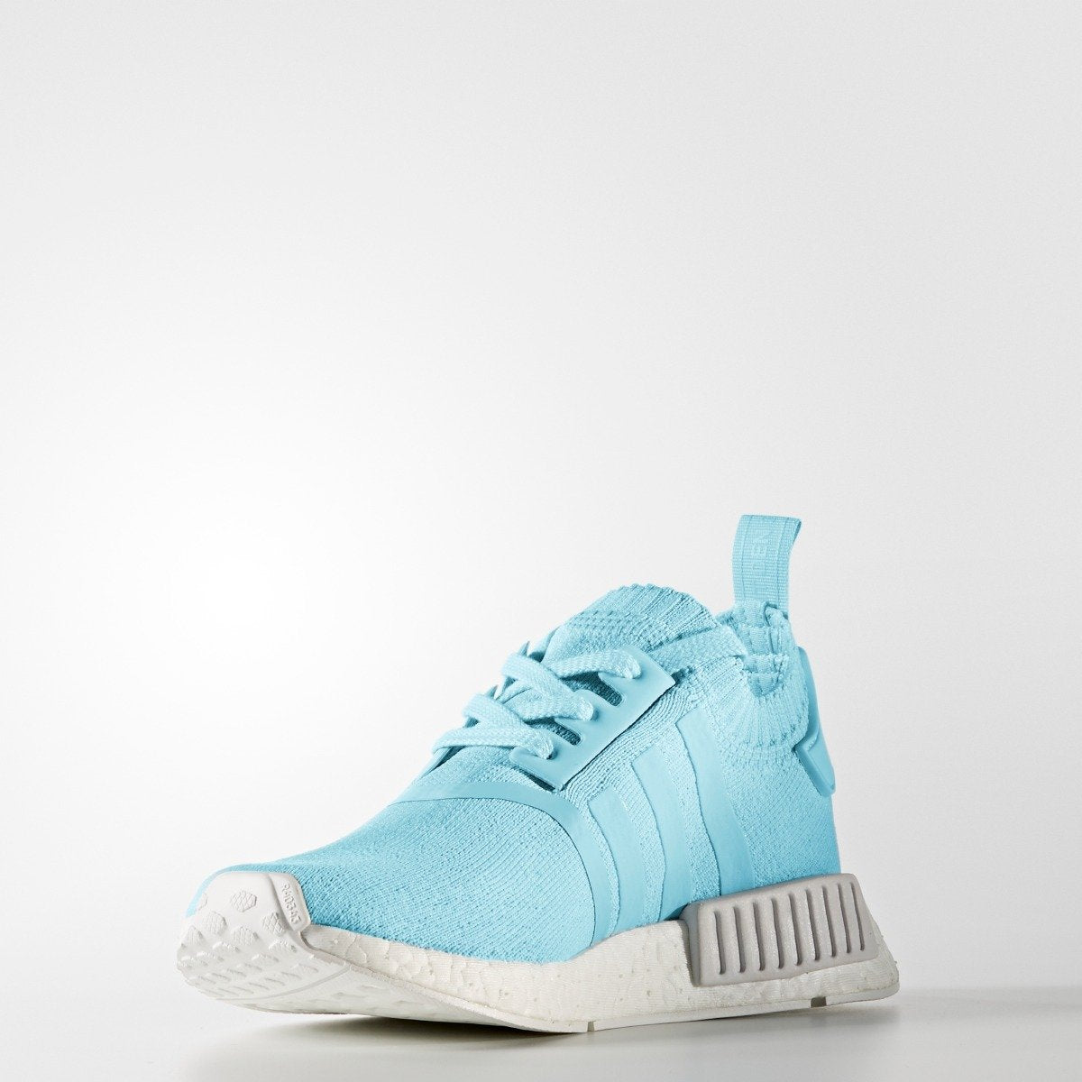 f04886609 Women s adidas Originals NMD R1 Primeknit Shoes Ice Blue with White. 1  2   3  4  5  6  7  8