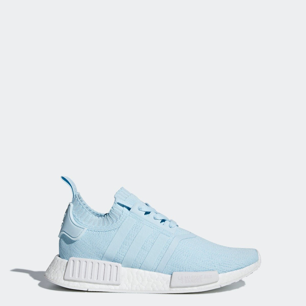timeless design 120a3 3f73c Women's adidas Originals NMD R1 Primeknit Shoes Ice Blue with White