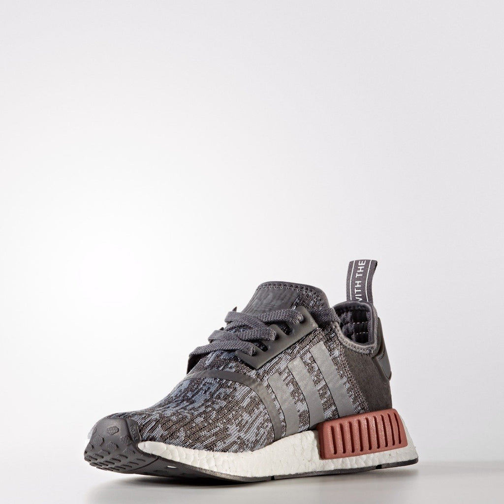 Women's adidas Originals NMD_R1 Shoes Grey Five