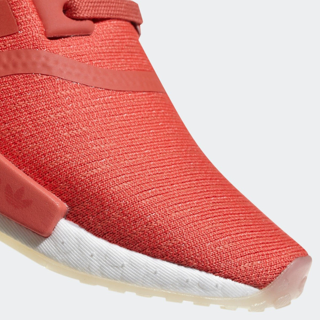 Women's adidas NMD_R1 Shoes Trace Scarlet Red CQ2014 | Chicago City Sports | toe area view