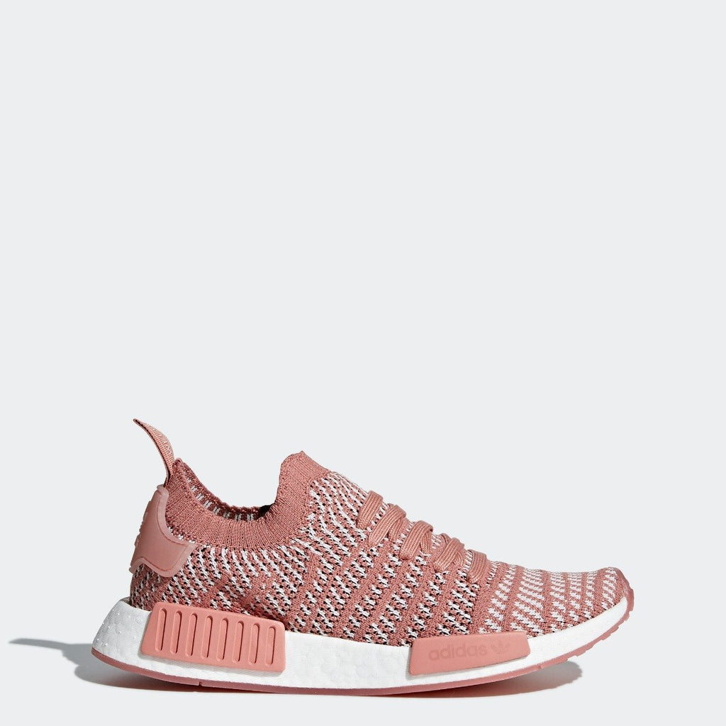 Women's adidas Originals NMD_R1 STLT Primeknit Shoes Ash Pink
