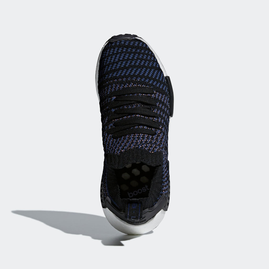Women's adidas Originals NMD_R1 STLT Primeknit Shoes Navy