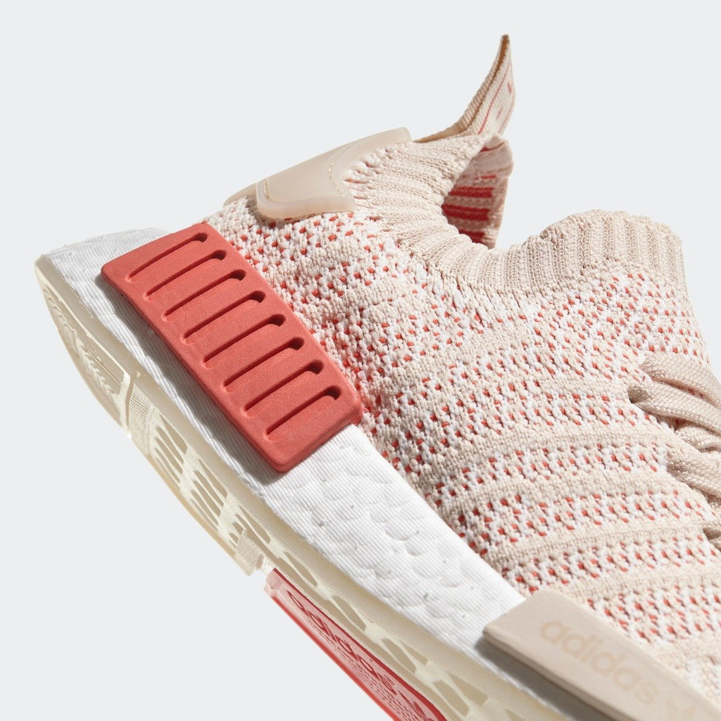 Women's adidas Originals NMD R1 STLT Primeknit Shoes Linen