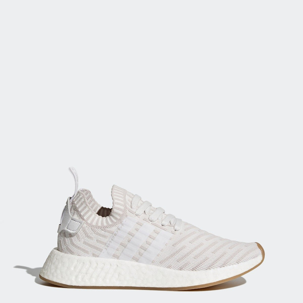 best sneakers 426c2 75d34 Women's adidas Originals NMD R2 Primeknit Shoes White with Shock Pink