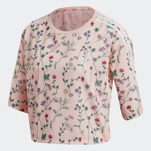 Women's adidas Originals Printed Tee Blush Pink
