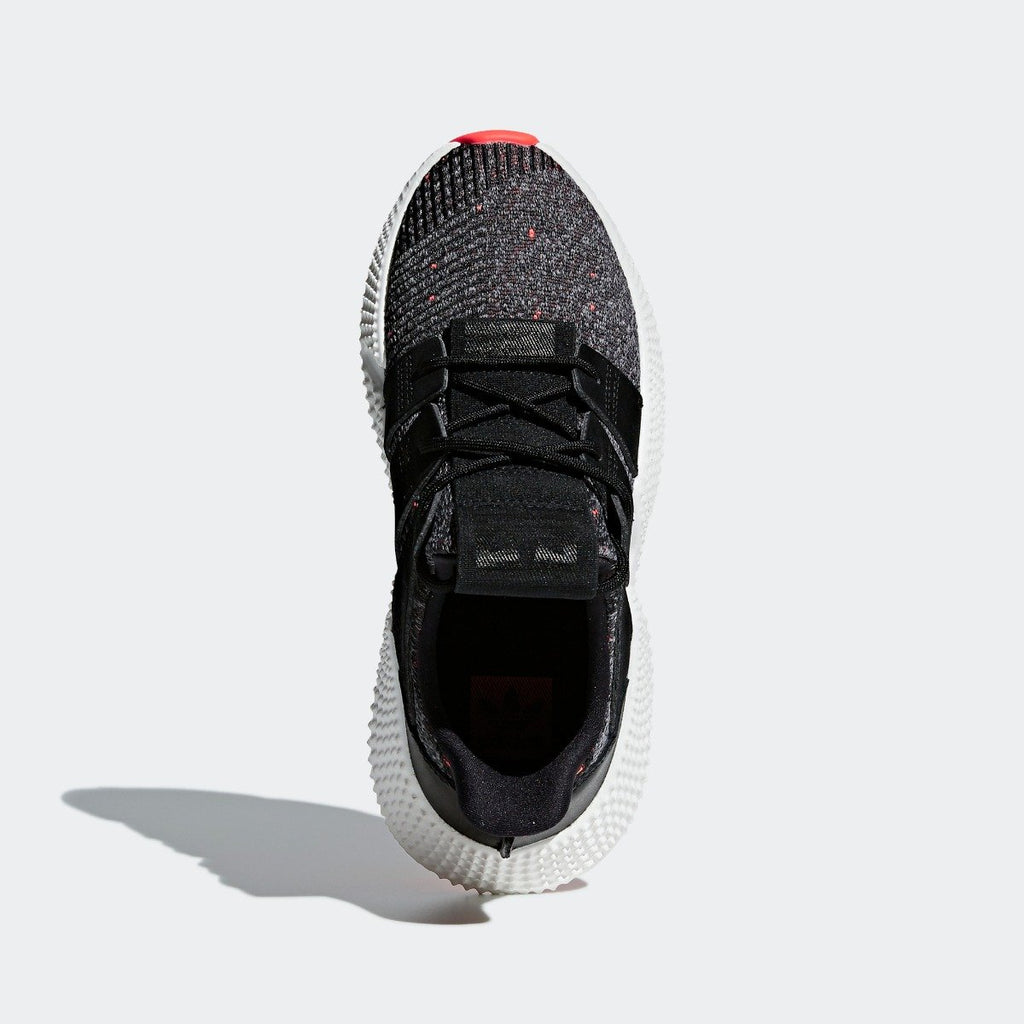 Women's adidas Originals Prophere Shoes Core Black and Solar Red