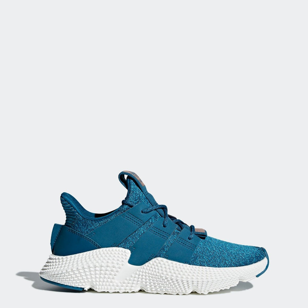 Women's adidas Originals Prophere Shoes Real Teal CQ2541 | Chicago City Sports | side view