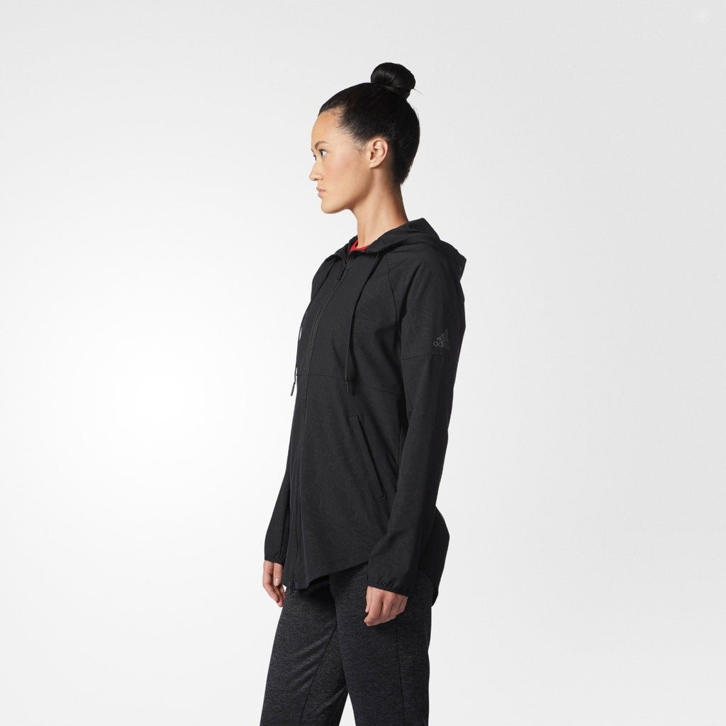 Women's adidas Originals Sport2Street Windbreaker Jacket Black