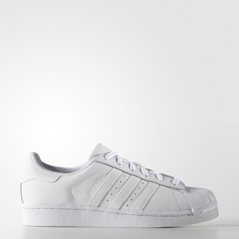 Women's adidas Originals Superstar Shoes Cloud White S85139 | Chicago City Sports | side view