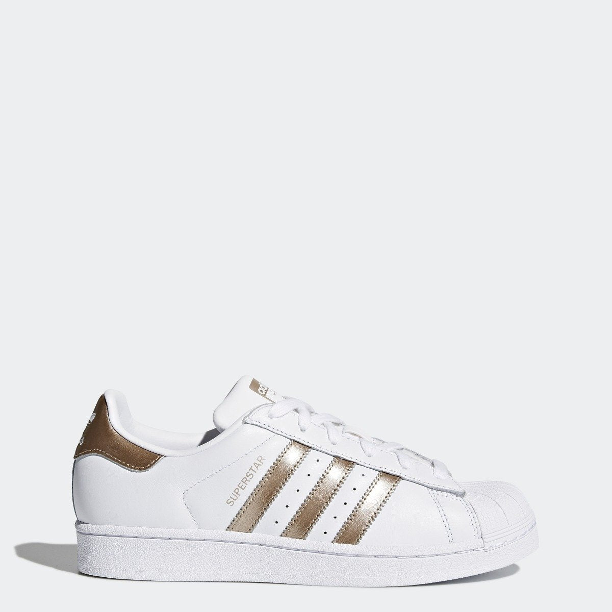 timeless design 15be3 eec28 Women s adidas Originals Superstar Shoes Cloud White with Cyber Metallic