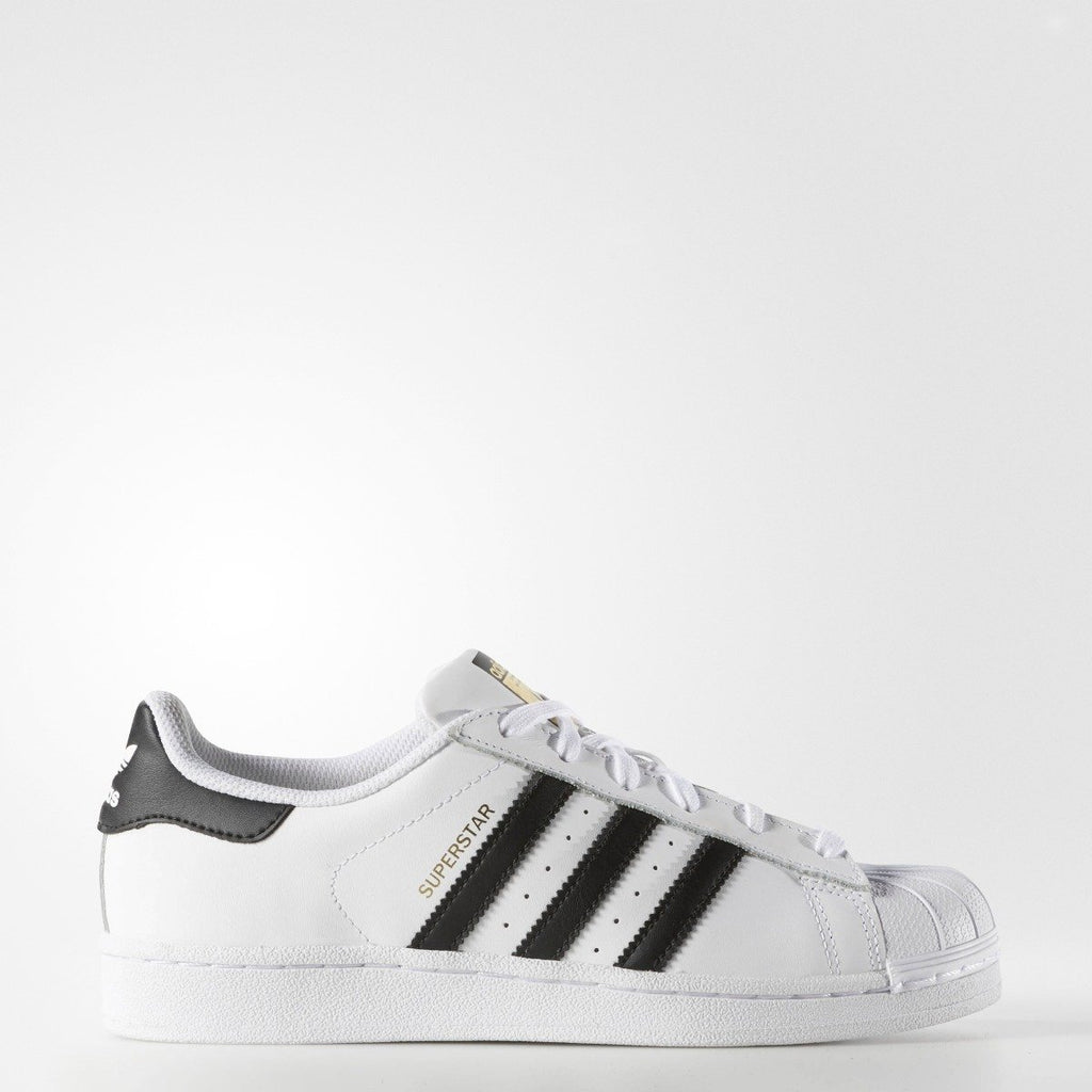 Women's adidas Originals Superstar Shoes White Black C77153 | Chicago City Sports | side view