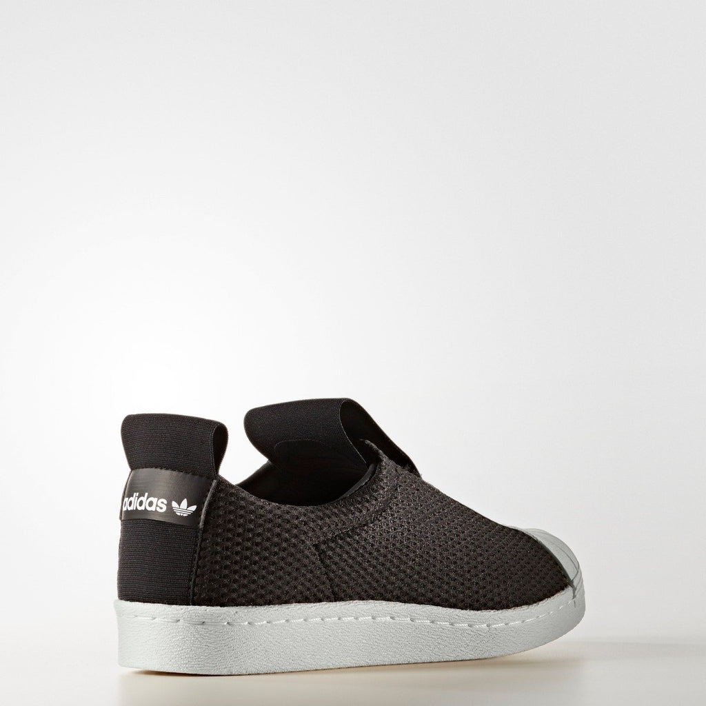 Women's adidas Originals Superstar Slip-On Shoes Black