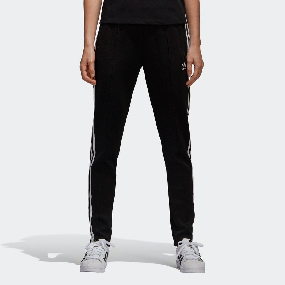 c56bcd77490a34 Women's adidas Originals Superstar Track Pants Black with White
