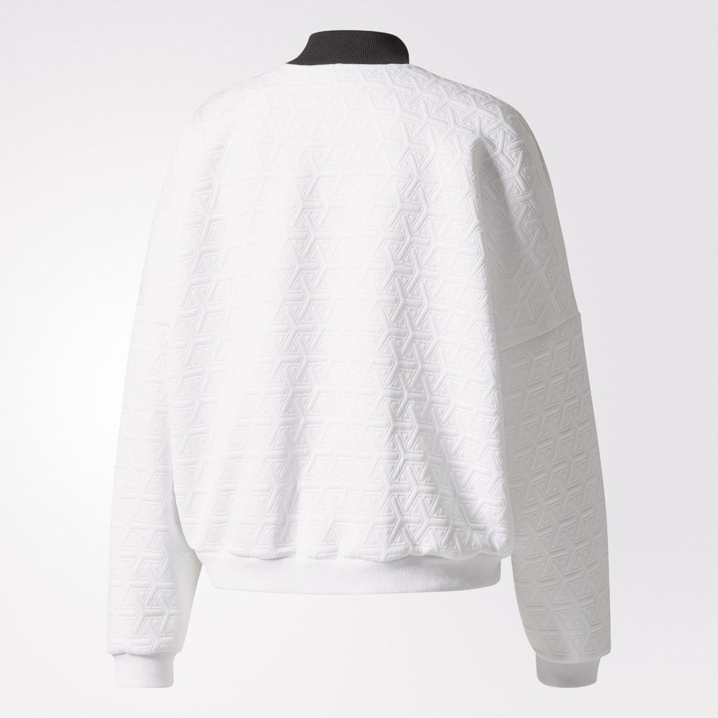 Women's adidas Originals Sweater Zip White
