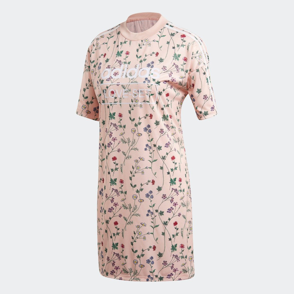 Women's adidas Originals Tee Dress Blush Pink