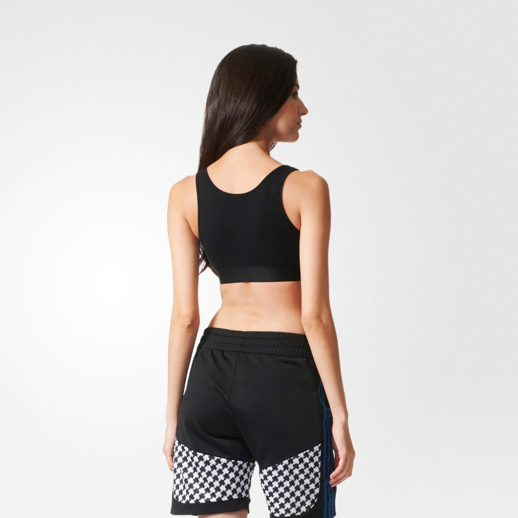 Women's adidas Originals Trefoil Bra Top Black