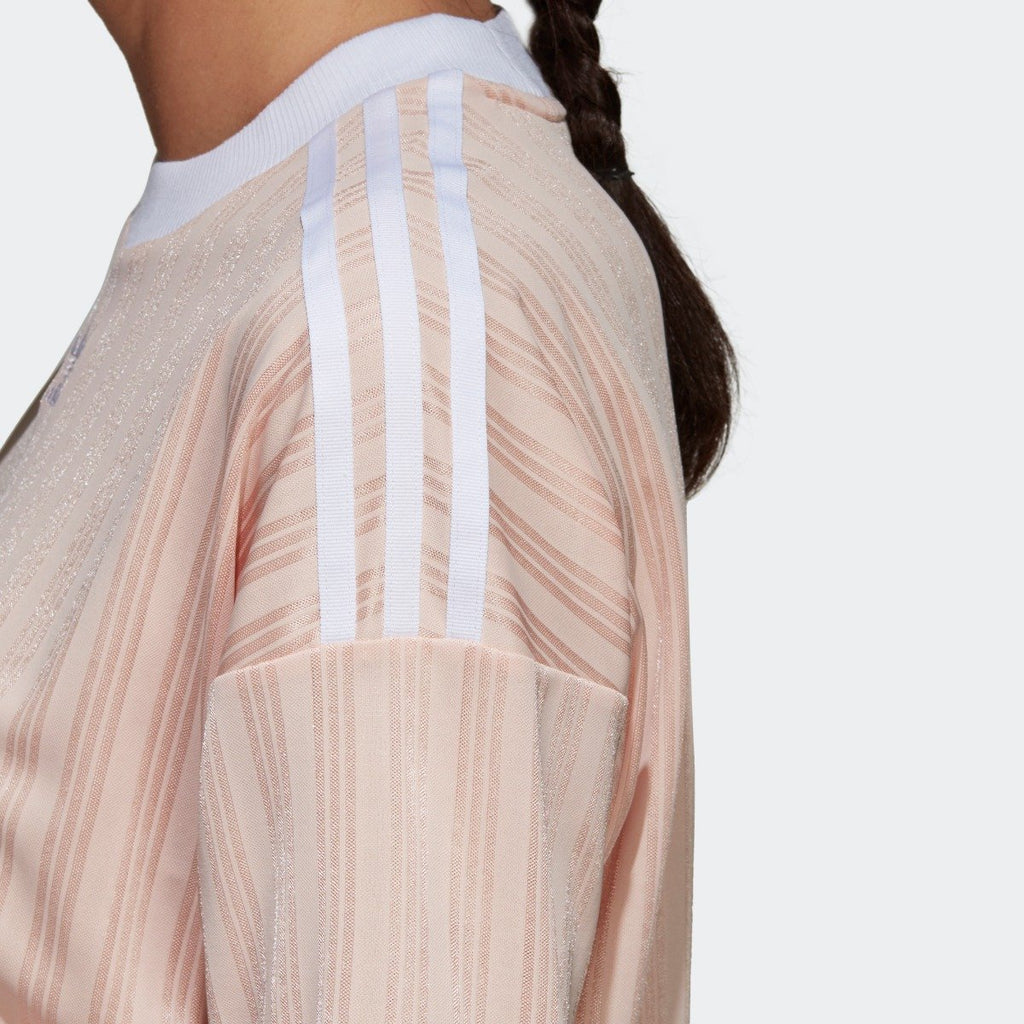 Women's adidas Originals Trefoil Dress Blush Pink