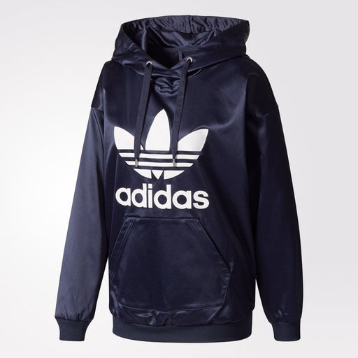 Women's adidas Originals Trefoil Hoodie Legend Ink
