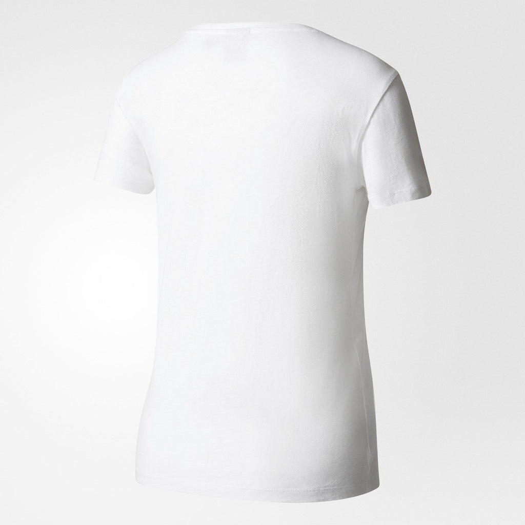 Women's Adidas Originals Trefoil Tee White
