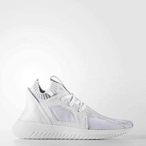Women's Adidas Originals TUBULAR DEFIANT PRIMEKNIT WHITE