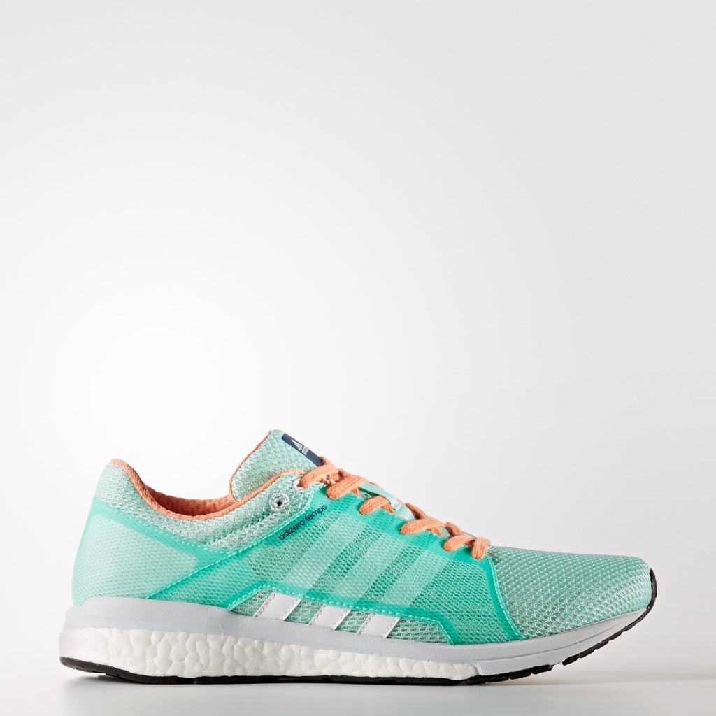 Women's adidas Running adizero Tempo 8 Shoes Easy Green