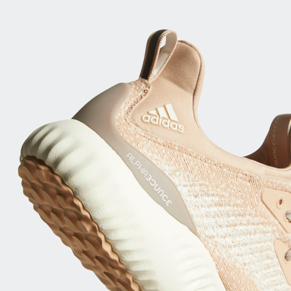 cheap for discount a9f81 9a478 Womens adidas Running Alphabounce 1 Shoes Ash Pearl with Legacy White. 1