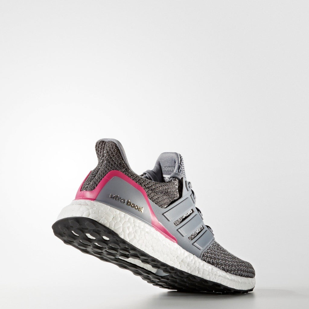 Women's Adidas Running Ultraboost Grey/Shock Pink