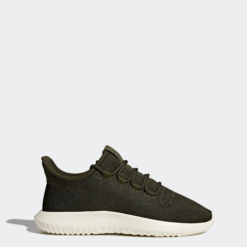 Women's adidas Tubular Shadow Shoes Night Cargo with Off White