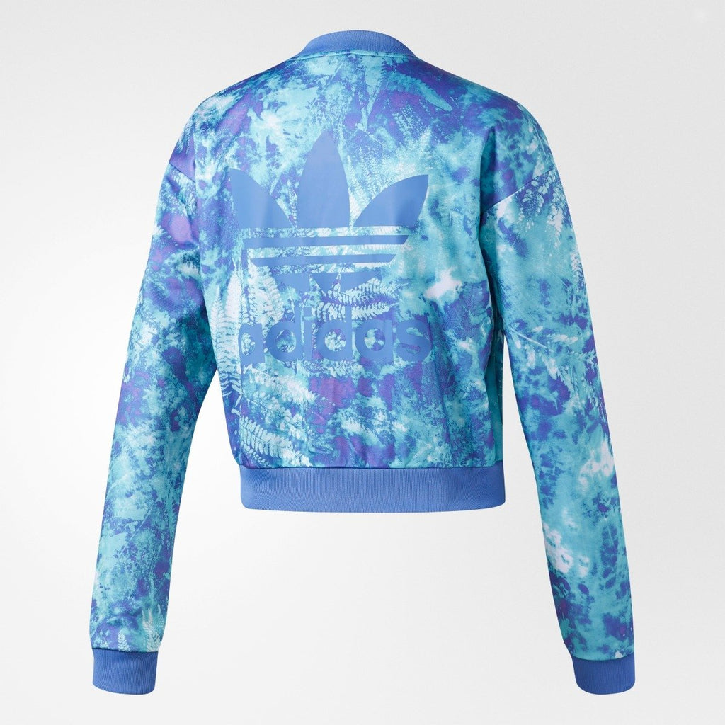 Women's Adidas Originals Ocean Elements Track Jacket Blue