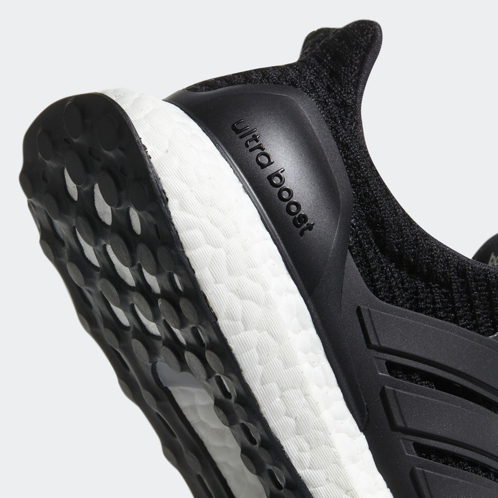 Women's adidas Running Ultraboost Shoes Core Black with White