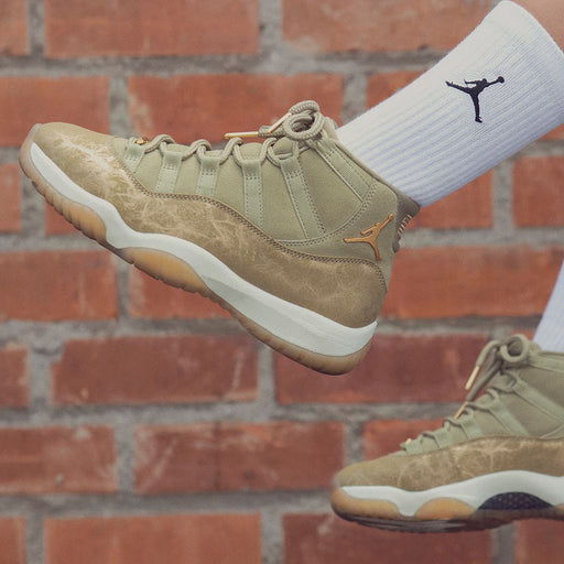 Women's Air Jordan 11 Olive Lux
