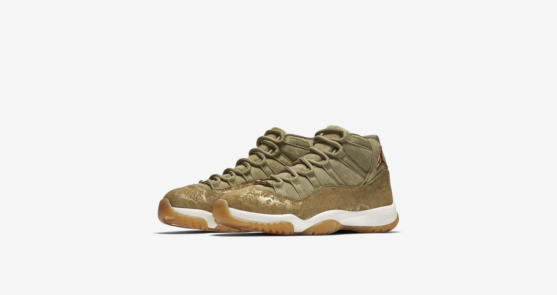 7ad02fa8be Women's Air Jordan 11 Olive Lux AR0715-200   Chicago City Sports
