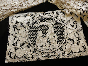 Friendship Lace Antique Point Venise Placemats & Runner - Setting for 12
