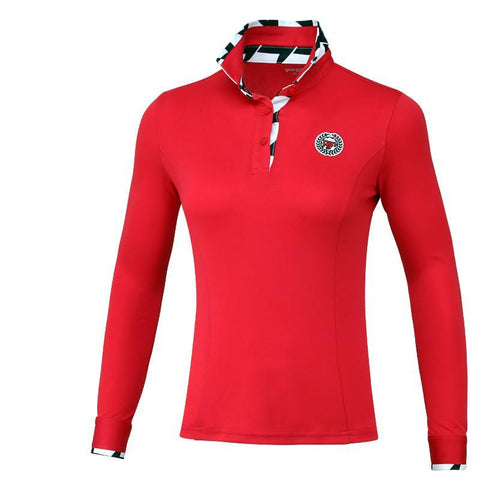 Long Sleeve Top Quality Women Golf T-Shirt