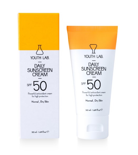 Youth Lab Daily Sunscreen Cream SPF50 Normal Dry Skin 50ml