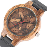 Vintage Handcrafted Stylish Wooden Watch for Men And Women