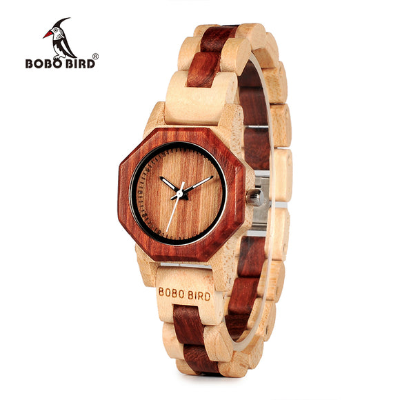 BOBO BIRD TWO-TONE C-M25 - Wooodster - Wooden Watches, Sunglasses & Accessories