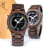 BOBO BIRD V-P02 - Wooodster - Wooden Watches, Sunglasses & Accessories