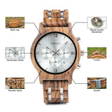 BOBO BIRD L-P19 - Wooodster - Wooden Watches, Sunglasses & Accessories